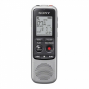 Sony ICD-BX140 Digital Voice Recorder 4GB NON PC/ up to 1043h MP3 Recording/ Built-in Speaker 300mW/ 2xAAA batteries/ Noise Cut Function/ 21-Step Speed Control/ Earphone, Microphone Jacks  135,00