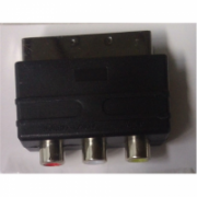 Adapter SCART to 3x RCA OEM  4,00