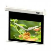 Elite Screens M99NWS1-SRM Manual Pull Down Screen 99'' 1:1 / Diagonal 251.5cm, W 177.8cm x H 177,8cm / White case / Dual wall & ceiling mount / Built-in SRM / 4-side black masking border / 160 Degrees viewing angle / Easy to clean  320,00