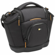 Case Logic Medium SLR Camera Bag Black, * Professional aesthetic with a touch of outdoor look;* Shoulder bag with dedicated space for 1SLR camera & 3 lenses; * Front organizer to store extra accessories; * EVA base gives stability & protects; * Ha  44,00