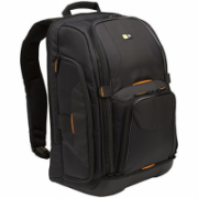 """Case Logic SLRC-206 SLR Camera/Laptop Backpack Interior dimensions (W x D x H) 119.4 x 391.2 x 264. mm, Black, * Separate compartment for camera/lens;* Dedicated laptop storage for 16"""" PC or 17"""" MacBook;* EVA base for impact and moisture protection;* Full  86,00"""